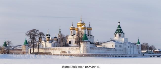 Hypatian Monastery in Kostroma, Russia.