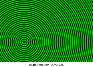 hypnosis green background