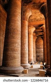 Hypostyle Hall, Edfu, Egypt