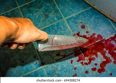 Hypothetical events Killer. The killer used a knife. Presumably, the killer used a knife. drops of blood