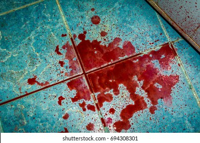 Hypothetical events Killer. The killer used a knife. drops of blood