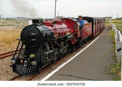 Hythe,East Sussex/UK 8/1/16 Romney, Hythe and Dymchurch miniature railway