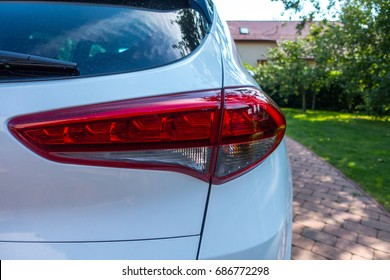 Hyundai Tucson back light