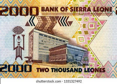 I. T. A. Wallace-Johnson (1894-1965) on 2000 Leones 2006 Banknote from Sierra Leone. Workers leader, journalist, activist and politician. Closeup Collection.