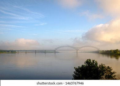 I-40 Bridge over the Mississippi River near Memphis, Tennessee