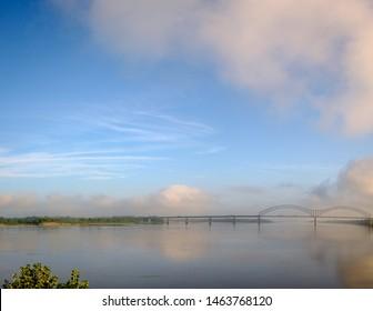 I-40 Bridge over the Mississippi River between Memphis, Tenneessee and West Memphis, Arkansas