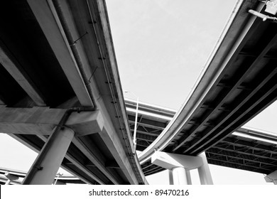 I-40 interstate overpass in Memphis, Tennessee