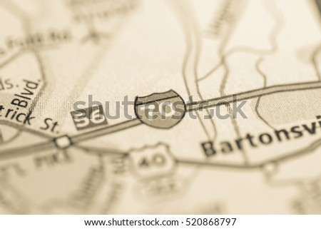 I 70 Maryland USA Stock Photo (Edit Now) 520868797 - Shutterstock I Map Usa on map indiana usa, map denver usa, map portland usa, map nashville usa, map colorado usa, map i-65 usa, map texas usa,