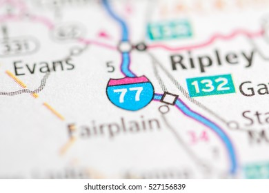 I 77 West Virginia Map.I 77 West Virginia Usa Stock Photo Edit Now 527156818 Shutterstock