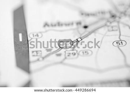 I 85 Georgia USA Stockfoto (Jetzt bearbeiten) 449286694 – Shutterstock