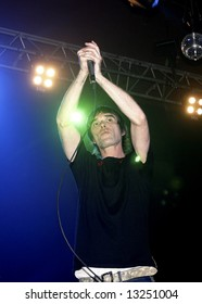 Ian Brown in a live concert