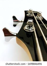 Ibanez Bass Guitar White Backfround