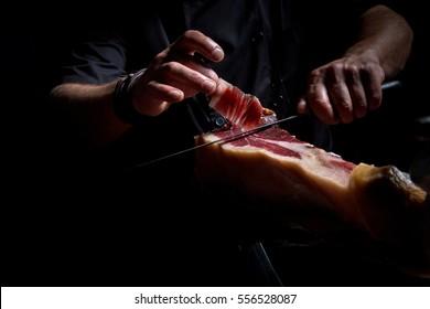 Iberian ham cutter