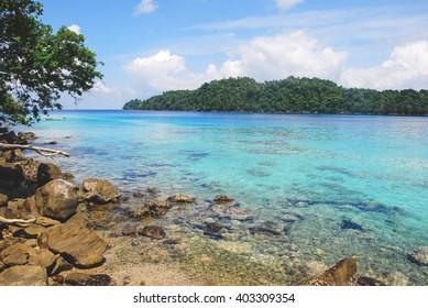 Ibioh beach on Pulau Weh Island