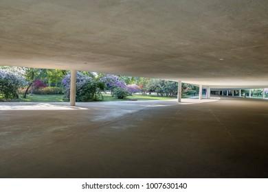 Ibirapuera Park Architecture - Sao Paulo, Brazil