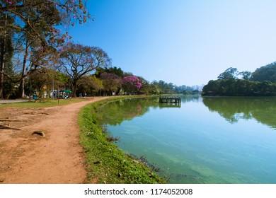 Ibirapuera Parke in Sao Paulo