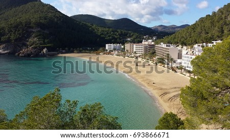 Ibiza Beaches Stock Photo (Edit Now) 693866671 - Shutterstock