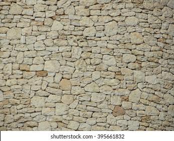 Ibiza dry stone wall background