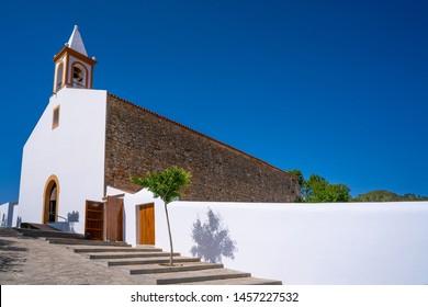 Ibiza Sant Joan de Labritja church in Balearic Islands also San Juan Bautista