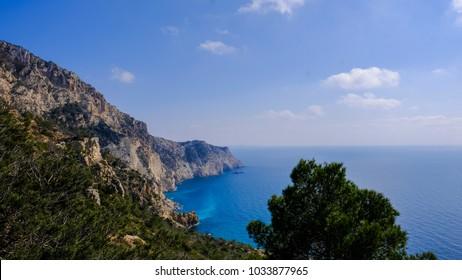 Ibiza, vistas del mar