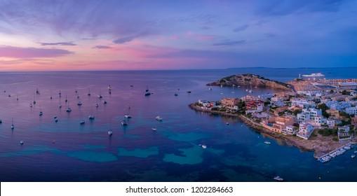 Ibiza yachts sunrise