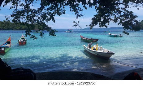 Iboih Beach, Sabang, Indonesia also known as Teupin Layeu, is located  opposite the west of the legendary Weh Island in Northern Aceh, Indonesia. This is small and hidden paradise.