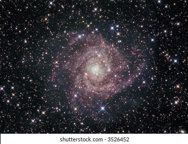 IC 342 galaxy in Camelopardalis