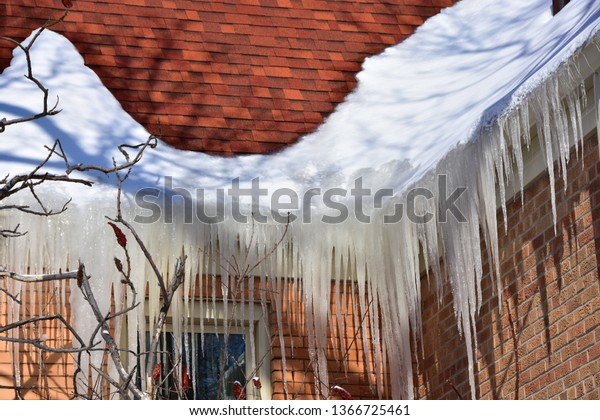 Stuck Ice on the Roof