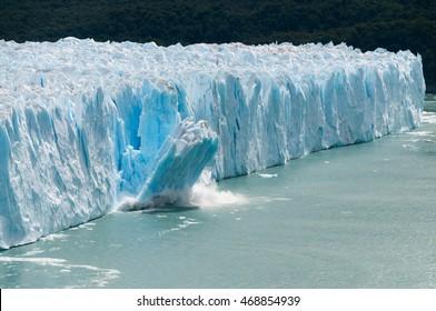 Ice Calving at the Perito Moreno Glacier, Patagonia, Argentina