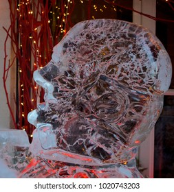 Ice carving, Quebec City