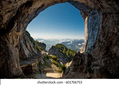 Ice cave Eisriesenwelt, Werfen, Austria