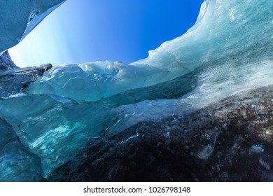 Ice cave near Skaftafell