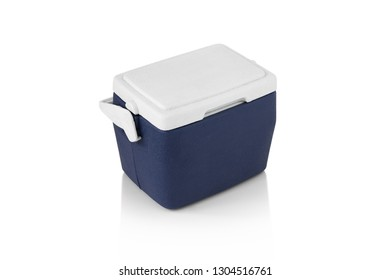 Ice Chest on isolated white background