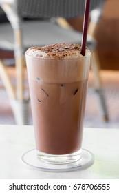 ice chocolate.