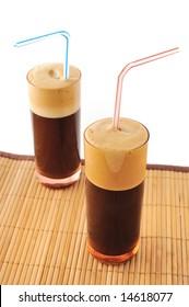 ice coffee (frappe) greek coffee