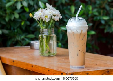 Ice coffee for fresh