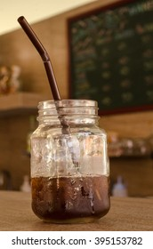 ice Coffee mugs, coffee shop.