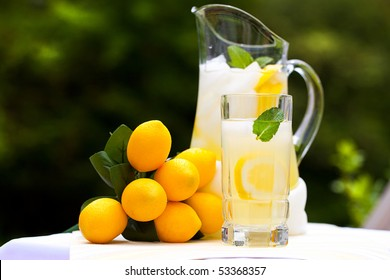 Ice Cold Lemonade