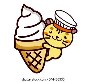 Ice cream and Animal Series