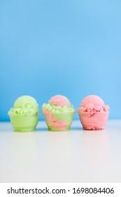 Ice Cream Arrangement Bright Colors
