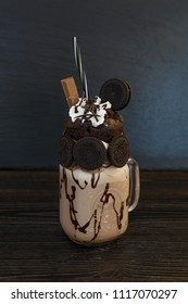 Ice cream crazy shake