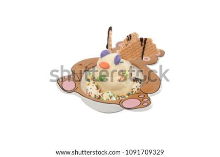 Ice Cream Cup Stock Photo Edit Now 1091709329