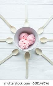 ice cream,  gelato