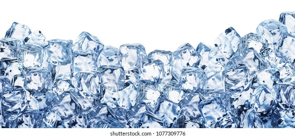 Ice cube background. File contains clipping path.