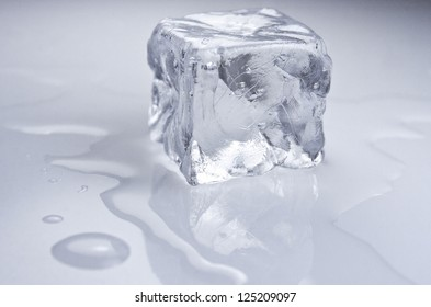 Ice cube. Cold
