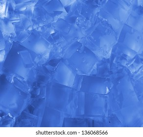 ice cubes background close up photo