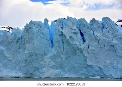 Ice face of Perito Moreno Glacier