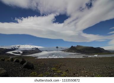 Ice field on Iceland