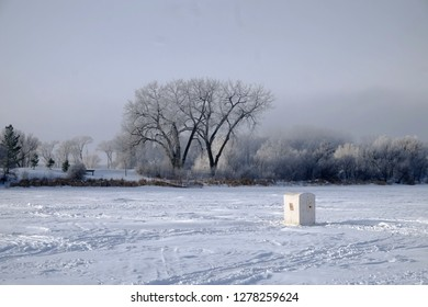 ice fishing house