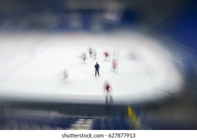 Ice hockey concept photo